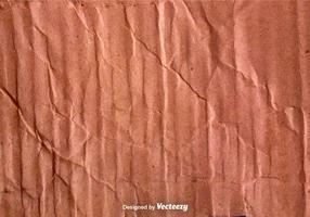 Vector Crumpled Cardboard Texture