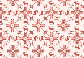Reindeer Red Pattern