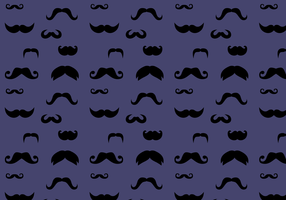 Free Mustache Pattern Vector