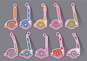 Segway Vector Icons
