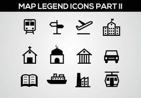 Free Map Legend Part II Vector
