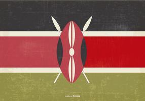 Vintage Flag of Kenya