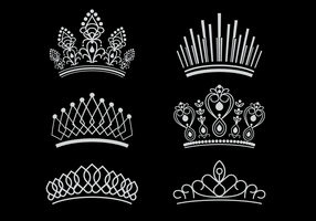 Free Pageant Crown Vectors