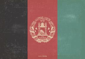 Vintage Flag of Afghanistan
