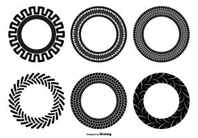 Tractor Tire Shape Set
