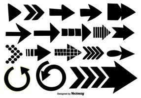 Hand Drawn Arrows Collection - Vector Elements