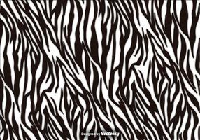 Zebra Stripes Vector Texture Background