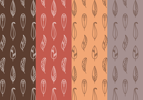 Free Feather Pattern Vector