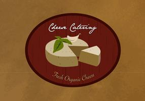 Cheese Catering Logo Vector