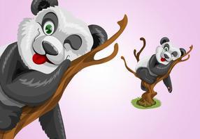 Cute Panda Character