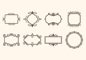 Free Vintage Retro Ornamental Frame Vectors