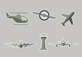 Avion Symbol Vector