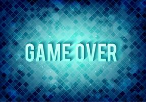 Free Vector Pixel Message: Game Over