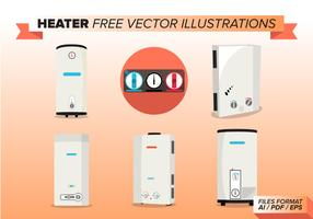 Heater Free Vector Illustrations