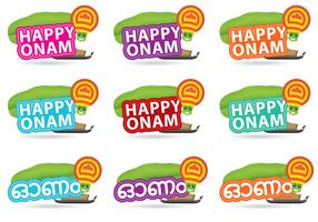 Happy Onam Titles