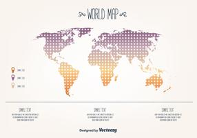 Free World Map Vector