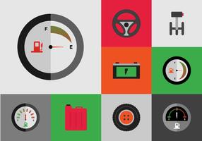 EARMARKED Free Car Icons Vector