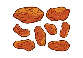 Free Raisins Vector