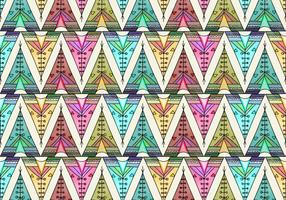 Free Vector Tipi Pattern