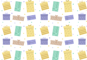 Free Gift Pattern Vector