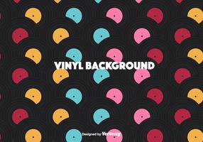 Colorful Vinyl Vector Background