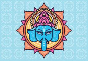 Hindu elephant head God Lord Ganesh. Hinduism. Happy Ganesh Chaturthi.