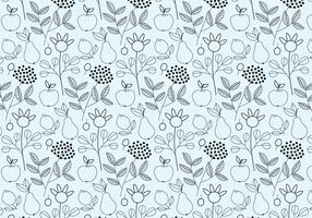 Outline Fruits Pattern