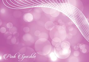 Vivid Pink Sparkle Background