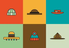 Free Hats Vector Pack