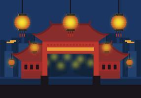 Vector China Town
