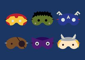 Vector Sleeping Mask Hero