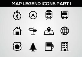 Free Map Legend Part I Vector