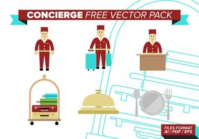 Concierge Free Vector Pack