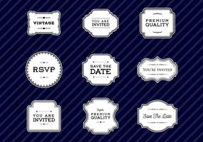 Free Vintage Frames and Cartouches Vector