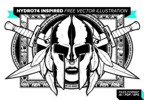 Hydro74 Inspired Free Vector Illustration