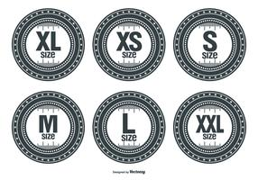 Size Vector Labels
