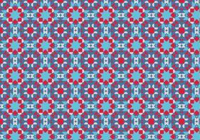 Purple Motif Pattern
