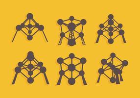 Atomium Vector