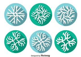 Neuron Icons Vector