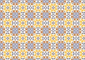 Portuguese Tile Vector Pattern