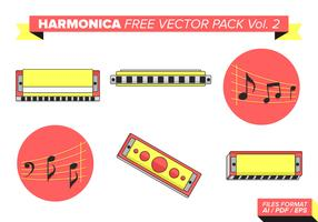 Harmonica Free Vector Pack Vol. 2