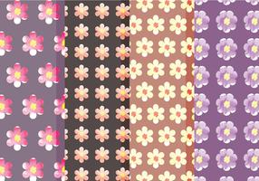 Cute Vector Floral Patterns