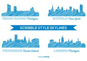 Scribble Style City Skylines
