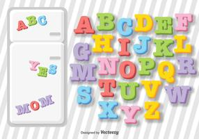 Vector Fridge Letter Magnets