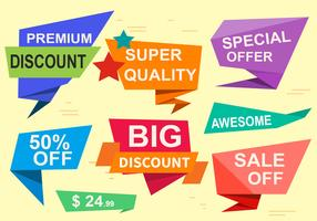 Free Special Offer Vector Labels
