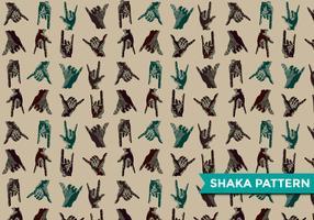Shaka Modern Pattern Vector