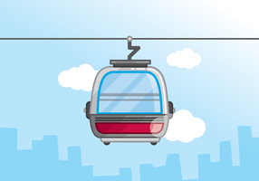 Cable Car Vector