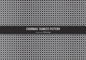 Free Chainmail Vector Seamless Pattern