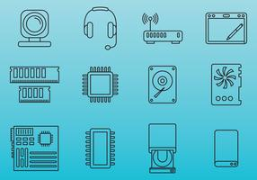 Computer Parts Icons