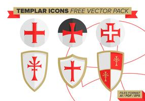 Templar Icons Free Vector Pack